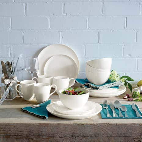 Jamie Oliver Ridge 16 Piece Dinner Set