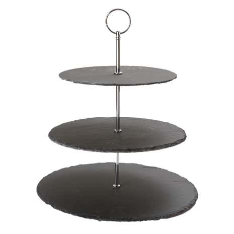 Three Tier Slate Cake Stand