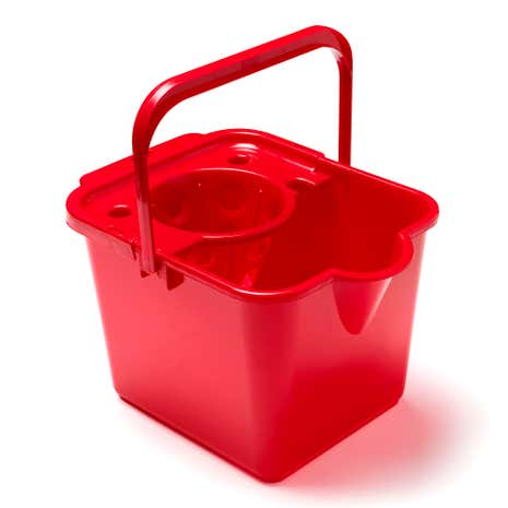 Spectrum Red Bucket and Wringer