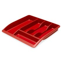 Spectrum Red Drawer Organiser