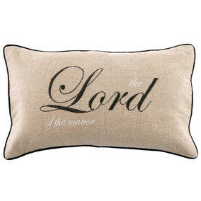 Lord of the Manor Boudoir Cushion
