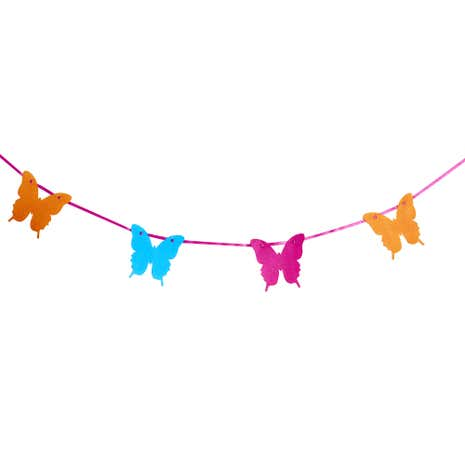 Bright Butterflies Bunting