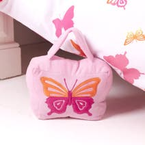 Kids Bright Butterflies Doorstop