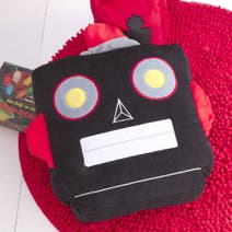 Kids Robot Filled Cushion