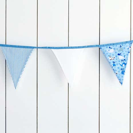Kids Nautical Nursery Bunting