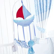 Kids Nautical Nursery Cot Mobile