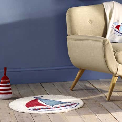 Kids Nautical Nursery Rug