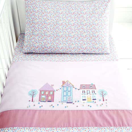 Up and Away Nursery Cot Bed Duvet Cover Set