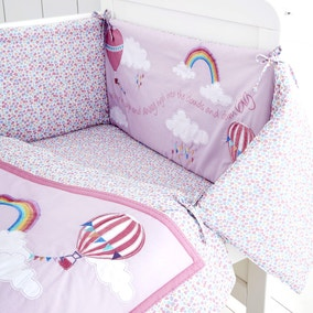 Up and Away Nursery Coverlet and Bumper