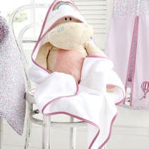 Up and Away Nursery Cuddle Robe and Mitt