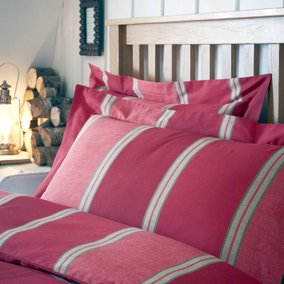 Blake Red Oxford Pillowcase