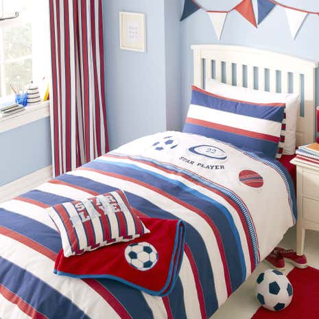 Varsity Sports Duvet Cover Set