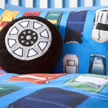 Kids Wacky Wheels Cushion