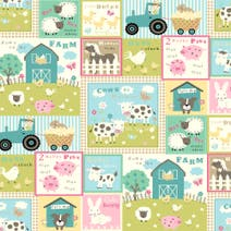 Farmyard PVC Fabric