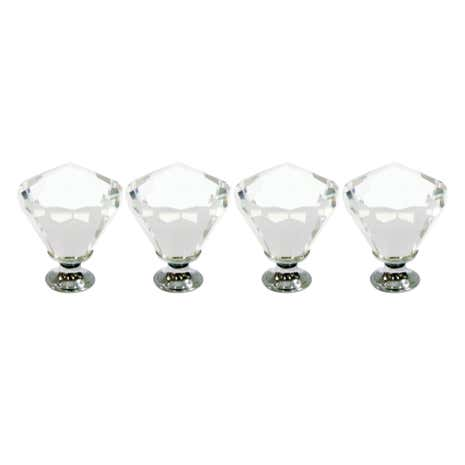 Jazz Age Set of 4 Drawer Knobs