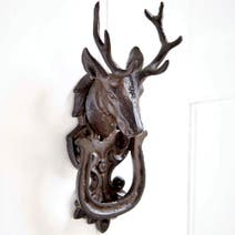 Rustic Ramble Metal Stag Door Knocker