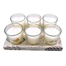 Cosy Skandi Lingonberry Set of 6 Votive Candles