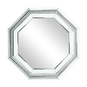 Spark Edge Octagon Bevelled Mirror