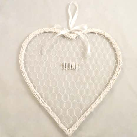 Wedding Heart Card Holder