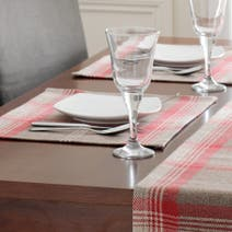 Highland Check Red Placemat