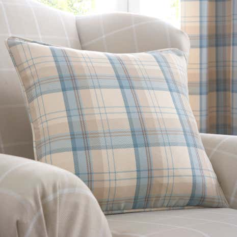 Balmoral Duck-Egg Cushion