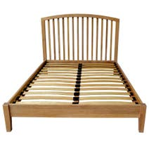 Revival Oak Bedstead