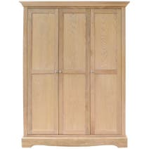 Revival Oak Triple Wardrobe