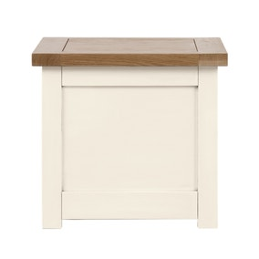 Henley Cream Small Storage Trunk