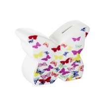 Kids Bright Butterflies Money Box