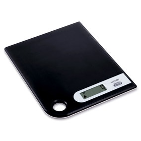 Hanson Black 5kg Kitchen Scales
