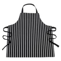 Black Striped Apron