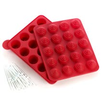 Red Cupcake Cake Pop Mould