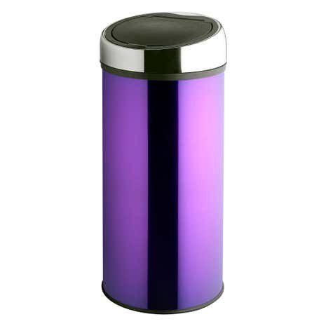 Spectrum Purple 30 Litre Press Top Bin