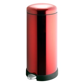 Spectrum Red 30 Litre Pedal Bin