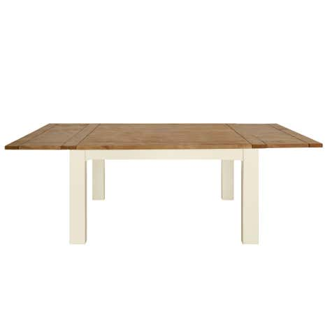 Loxley Cream Extending Dining Table