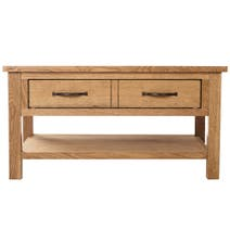 Sidmouth Oak 1 Drawer Coffee Table