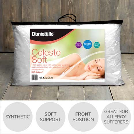 Dunlopillo Celeste Soft-Support Pillow