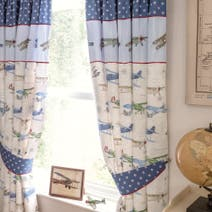 Dorma Vintage Plane Curtains