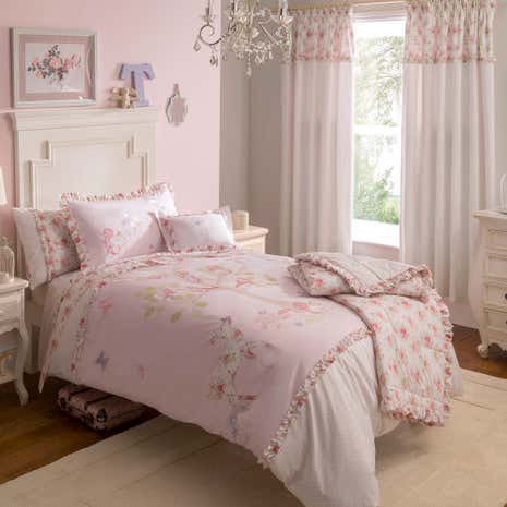 Dorma Woodland Pink Duvet Cover Set