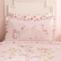 Dorma Woodland Pink Oxford Pillowcase