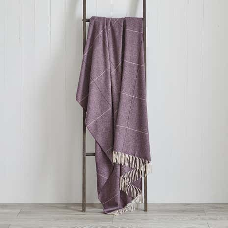 Dorma Maldon Natural Wool Throw