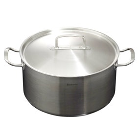 Brabantia Stainless Steel Covered Casserole Pan