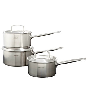 Brabantia Stainless Steel 3 Piece Pan Set