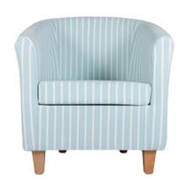 Hampton Stripe Tub Chair