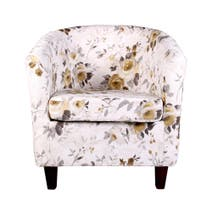 Romance Ochre Tub Chair