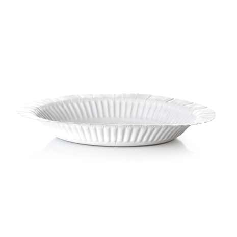 Pack of 18 White Paper Bowls