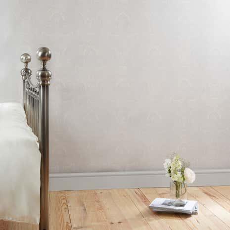 dorma paisley silver wallpaper dunelm. Black Bedroom Furniture Sets. Home Design Ideas