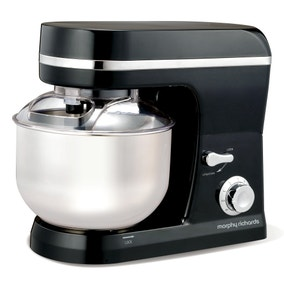 Morphy Richards Accents 400005 Black Stand Mixer