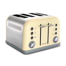 Morphy Richards Accents 242003 Cream 4-Slice Toaster