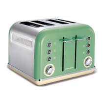 Morphy Richards Accents 242006 Sage Green 4-Slice Toaster